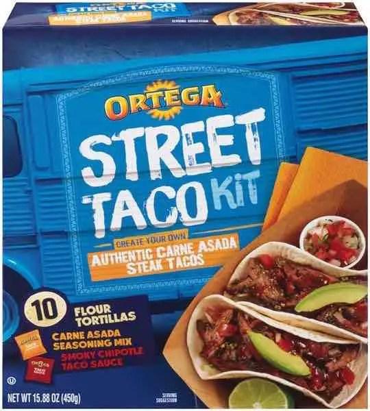 Ortega Carne Asada Street Taco Kit Printable Coupon