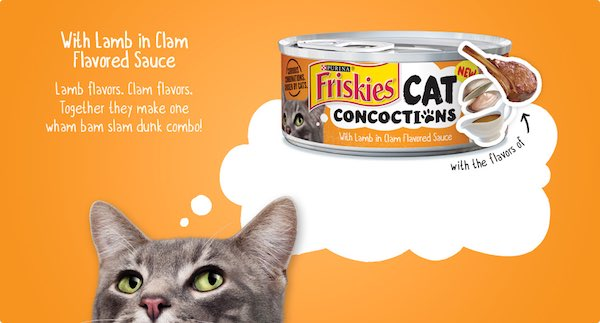 Purina Friskies Wet Cat Food Concoctions Printable Coupon