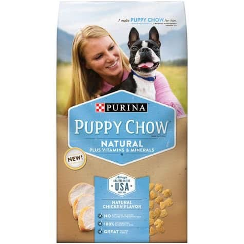 Purina Natural Puppy Chow 4lb Printable Coupon
