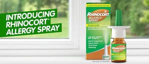 Rhinocort Product Printable Coupon