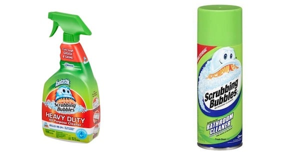 Scrubbing Bubbles Products Printable Coupon