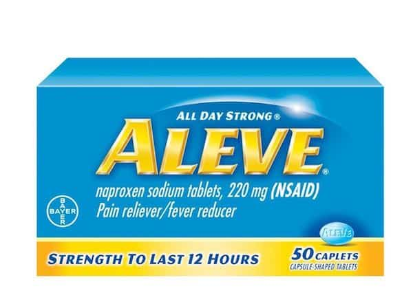Aleve Pain Reliever 50ct Printable Coupon