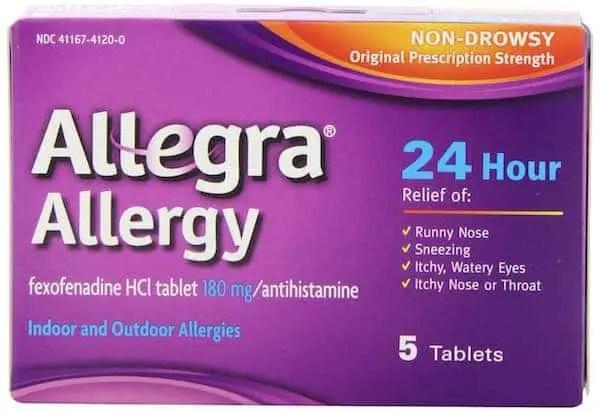 Allegra Allergy 24hr 5ct Printable Coupon