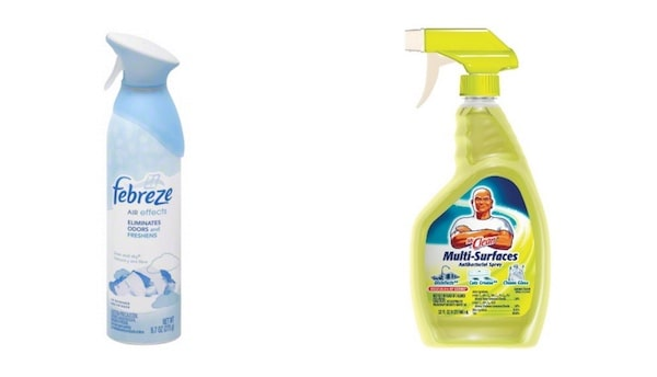 Febreze And Mr. Clean Products Printable Coupon