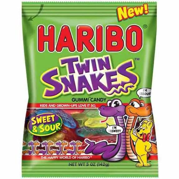 Haribo Twin Snakes Gummi Bags Printable Coupon