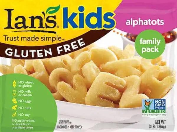 Ian's Gluten Free Alphatots Printable Coupon