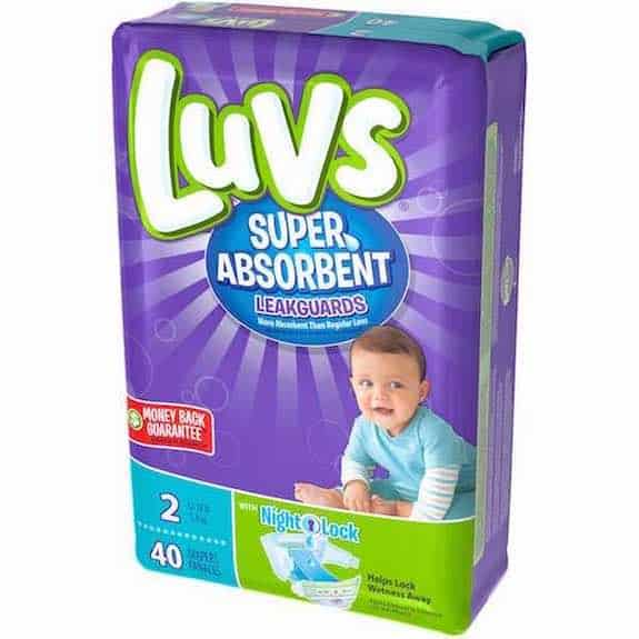 Luvs Ultra Leakguards Size 2 40ct Diapers Printable Coupon