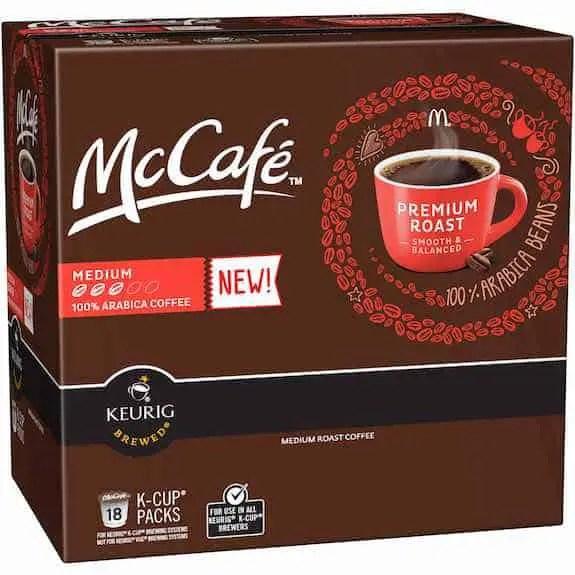 McCafe K-Cup 18ct Printable Coupon