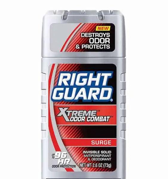 Right Guard Xtreme Odor Combat Deodorants Printable Coupon