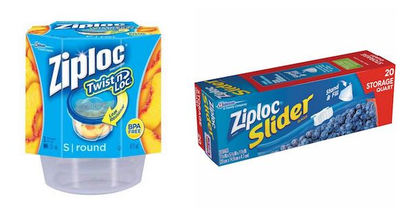 Ziploc Storage Containers and Bags Printable Coupon