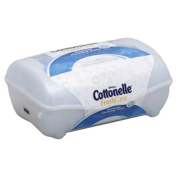 Cottonelle Flushable Cleansing Cloths 42ct Printable Coupon