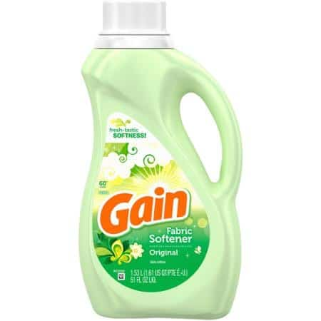 Gain Fabric Enhancer Printable Coupon