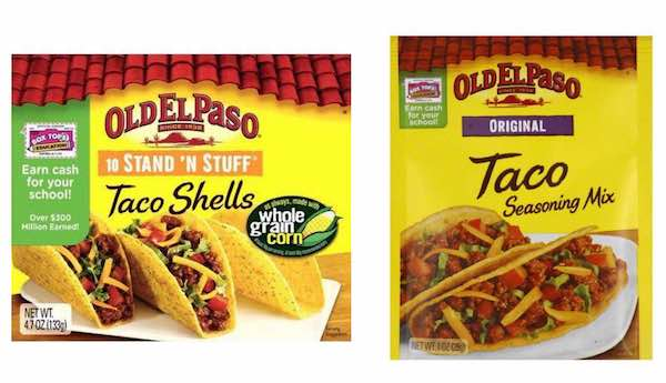 Fiesta Taco Shells 0 67 Box Free Taco Seasoning At Target New Coupons And Deals Printable Coupons And Deals