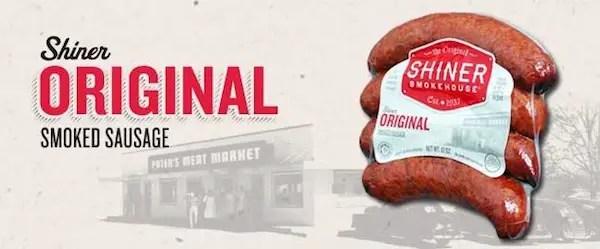 Shiner Smokehouse Sausage Printable Coupon