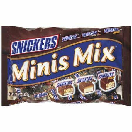 Snickers Minis Printable Coupon