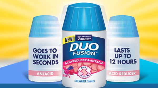 Zantac Duo Fusion Printable Coupon
