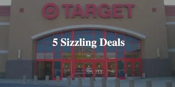 5 Sizzling Deals At Target