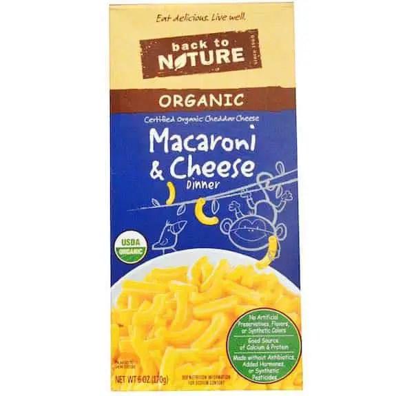 Back To Nature Mac & Cheese Printable Coupon