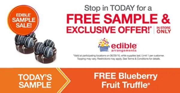 Edible Arrangements Free Sample Printable Coupon