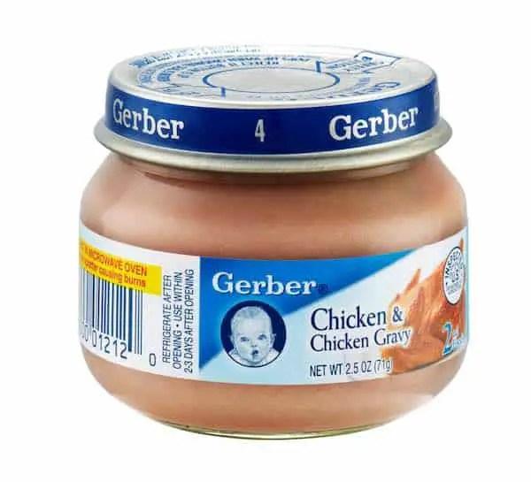 Gerber 2nd Foods Chicken & Gravy
