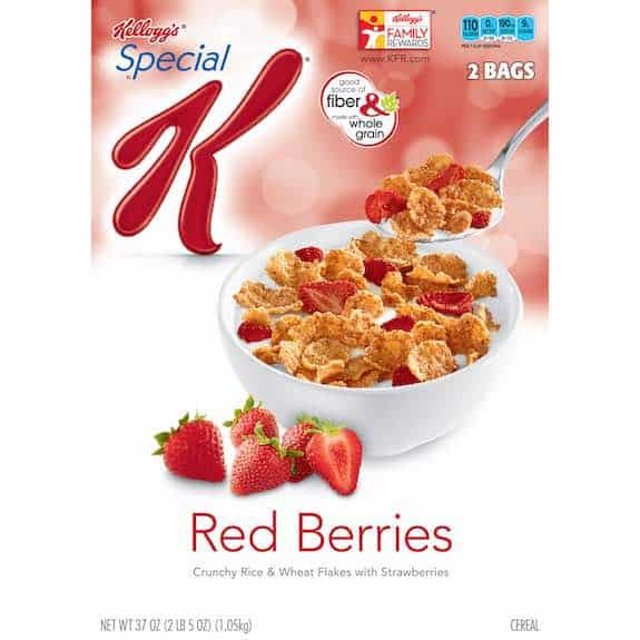 Kellogg's Special K Red Berries Cereal Printable Coupon