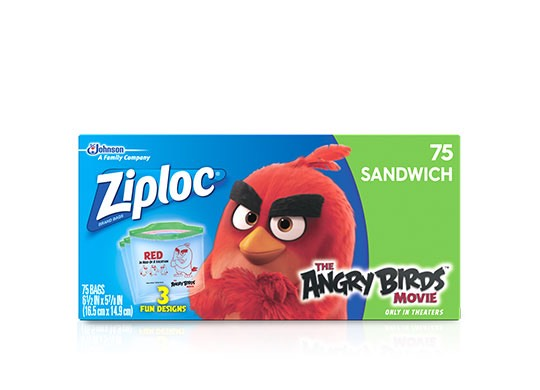Ziploc Angry Birds Sandwich Bags Printable Coupon