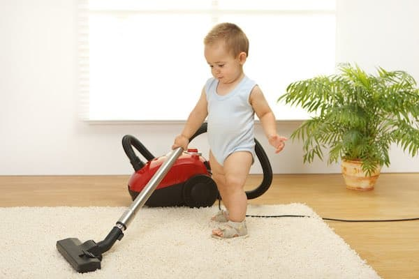 Baby Cleaning Image