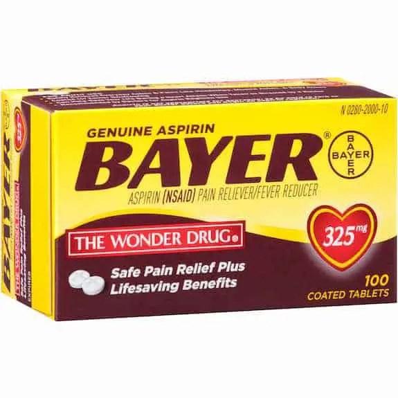 Bayer Aspirin 100ct Printable Coupon