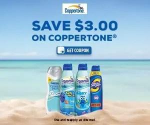 Coppertone Sponsored Printable Coupon