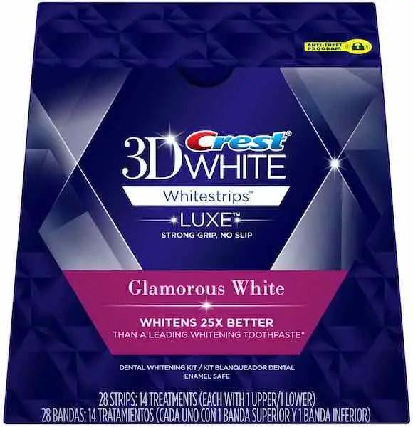 Crest 3D White Glamorous Whitestrips 14ct Printable Coupon