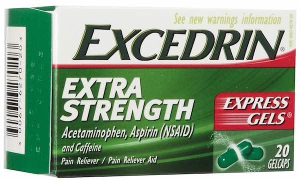 Excedrin Extra Strength 20ct Printable Coupon
