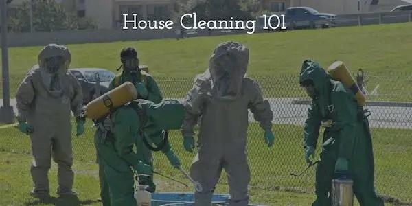 House Cleaning 101 Hazmat Image