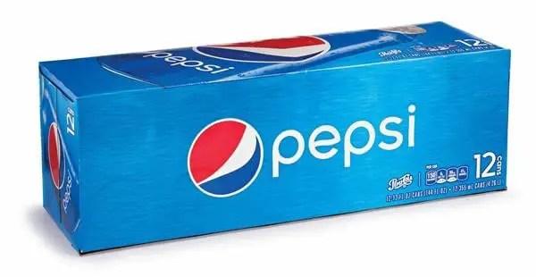 Pepsi Cans 12pk Printable Coupon