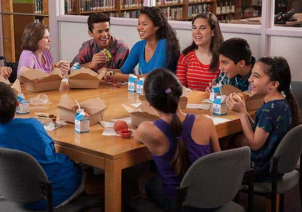 Snack Time Kids Table Image
