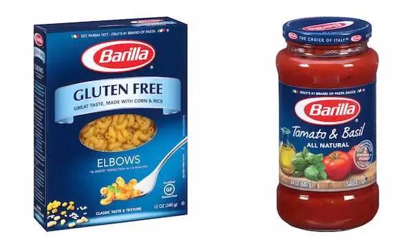 Barilla Products Printable Coupon