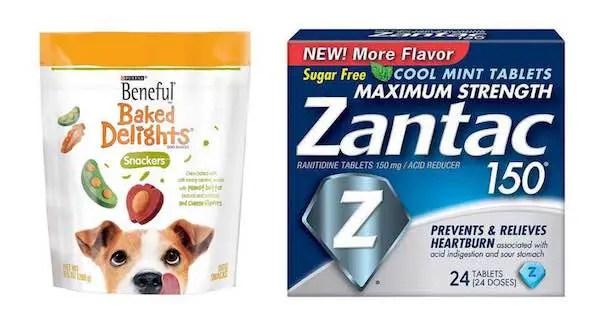 Beneful & Zantac Products Printable Coupon