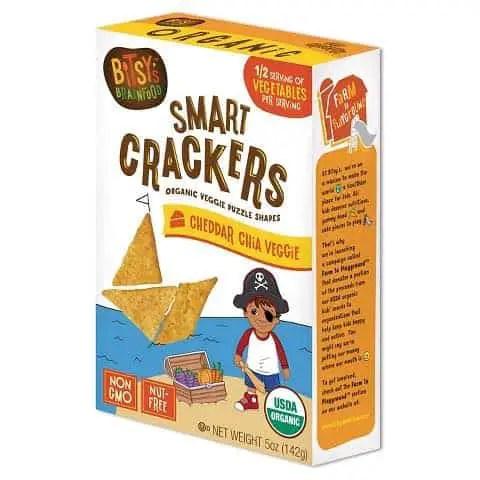 Bitsy's Brainfood Smart Crackers 5oz Box Printable Coupon