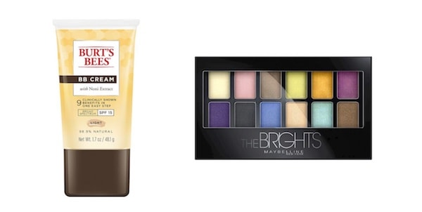 Burt's Bee & Maybelline Products Printable Coupon