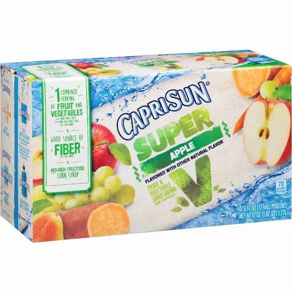 Capri Sun Organic Juice Pouch 10pk Printable Coupon