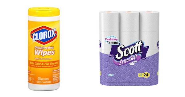 Clorox & Scott Products Printable Coupon