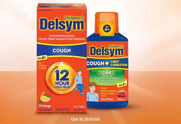 Delsym Children's Cough Relief Product Printable Coupon