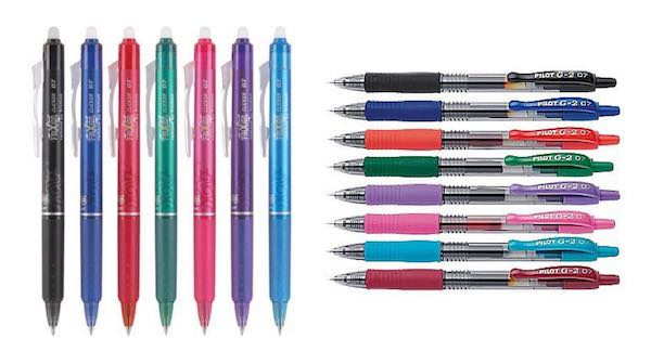 FriXion & G2 Pens Printable Coupon