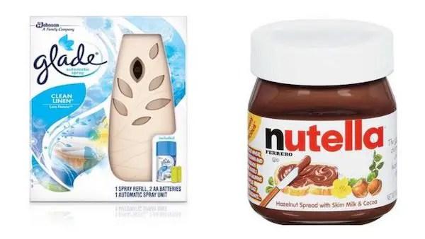 Glade Automatic Starter Kit & Nutella Printable Coupon