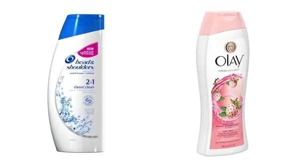 Head & Shoulders & Olay Body Wash Printable Coupon