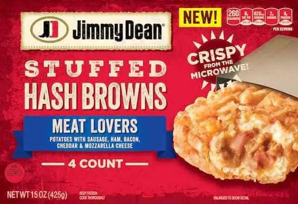 Jimmy Dean Stuffed Hash Brown Item Printable Coupon