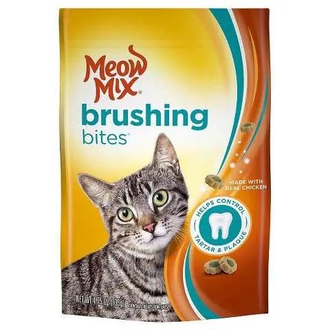 Meow Mix Brushing Bites Cat Treats Printable Coupon