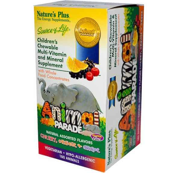 Nature's Plus Animal Parade Supplements Bottle Printable Coupon