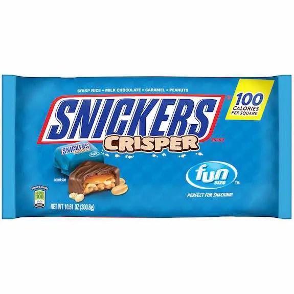 Snickers Crisper Fun Size Bags Printable Coupon