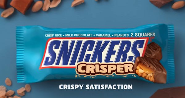 Snickers Crispier Candy Bar Printable Coupon