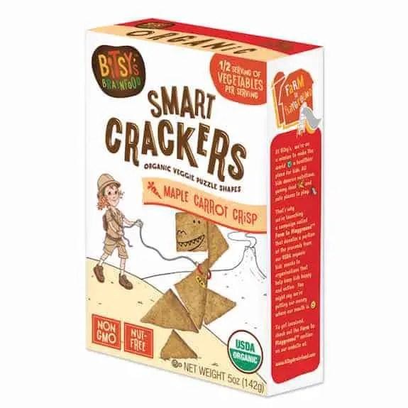 Bitsy's Maple Carrot Crisp Smart Crackers 5oz Box Printable Coupon
